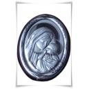 Matka Boża, Dzieciątko  - srebro pr.925 I Komunia Św., Chrzest