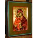 Matka Boża Dońska - ikona ręcznie pisana