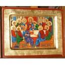 Ostatnia Wieczerza - ikona - prezent I Komunia Święta
