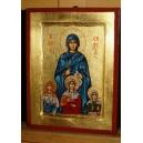 Święta Zofia z córkami (Wiarą, Nadzieją i Miłością)
