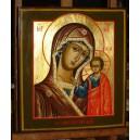 Matka Boża Kazańska - ikona ręcznie pisana