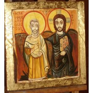 Chrystus z Przyjacielem - Ikona Przyjaźni