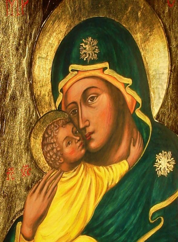 Matka Boża Czuła - Galeria ikony www.ikony-art.com - Eleusa