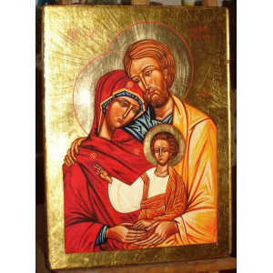 Święta Rodzina. Ikona Ruchu Equipes Notre-Dame