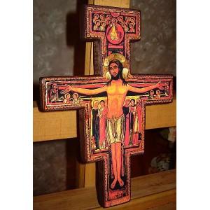 Krzyż Świętego Franciszka, San Damiano