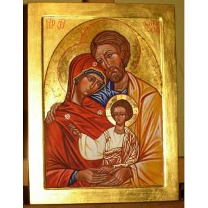Święta Rodzina - ręcznie pisana ikona