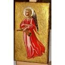 Anioł Stróż  - ikona ręcznie pisana, prezent