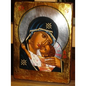 Matka Boża Czuła - Eleusa - CERTYFIKAT.