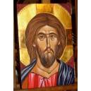 Chrystus Pantokrator - ikona ręcznie pisana