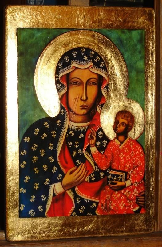 Matka Boża Częstochowska - Ikona, Galeria www.ikony-art.com