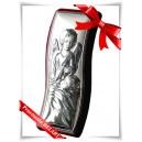 Anioł Stróż - obrazek posrebrzany (próba 925)